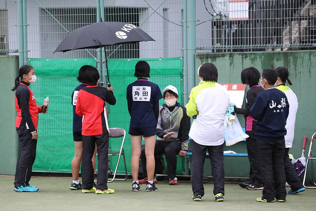 ソフトテニスフェスタ2021,女子準優勝,山梨県代表