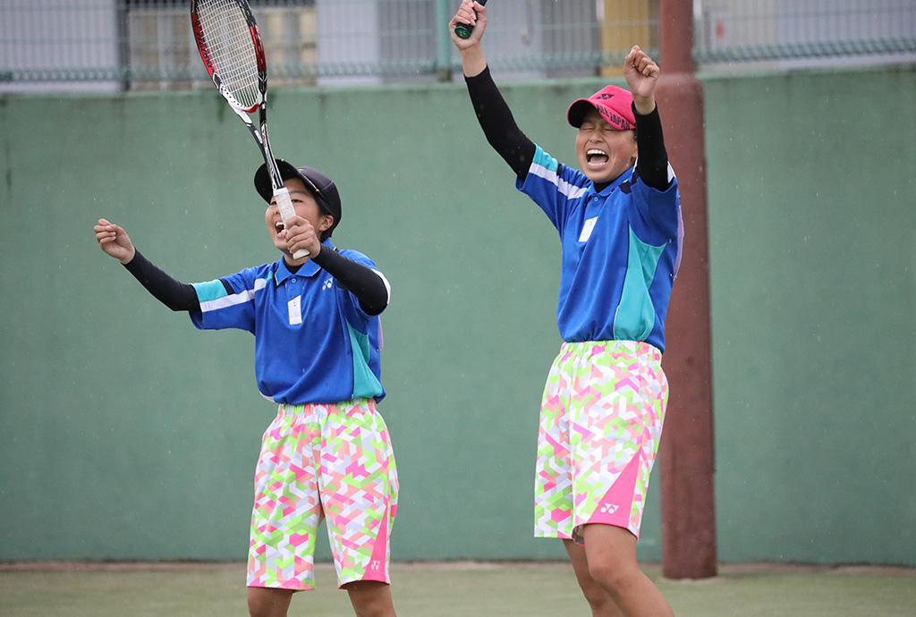 ソフトテニスフェスタ2021,愛知県ソフトテニス代表,篠原・石川ペア