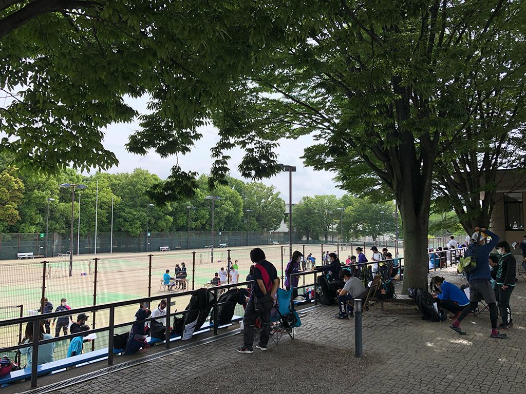 川越運動公園,全日本社会人ソフトテニス選手権,埼玉県予選会