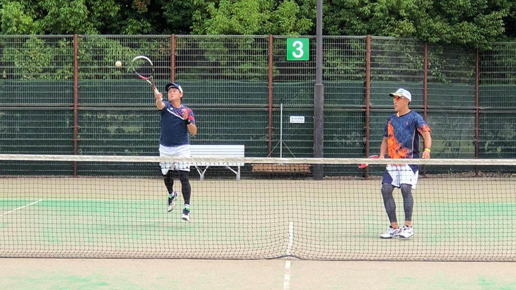 全日本社会人予選,来須荒川,所沢テニスクラブ