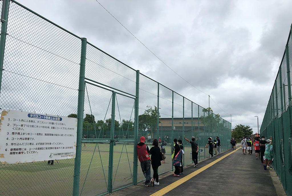 鴻巣パンジー杯,テニスコート,鴻巣市上谷総合公園