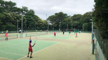 春日部オープンソフトテニス大会,庄和総合公園テニスコート