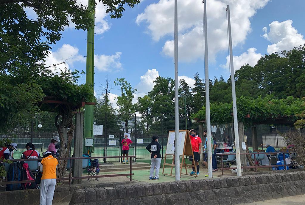 流山オープンソフトテニステニス大会,流山市総合運動公園テニスコート