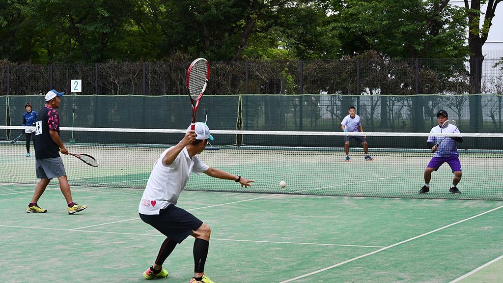流山オープンソフトテニステニス大会,流山市総合運動公園テニスコート,40歳以上の部