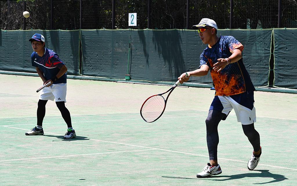 流山オープンソフトテニステニス大会,来須荒川,ダブルフォワード