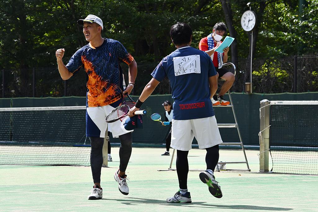 流山オープンソフトテニステニス大会,来須荒川