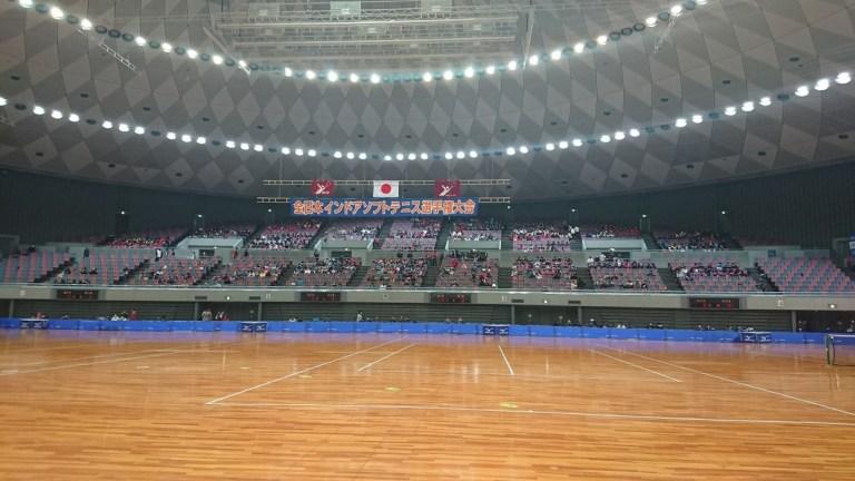 履正社スポーツ専門学校,全日本インドア