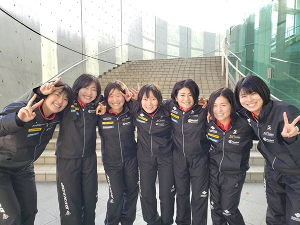 soft-tennis POCKET,濱谷杏奈,ダンロップ