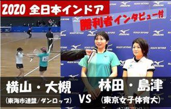 全日本インドア, 大阪府ソフトテニス連盟,横山大槻