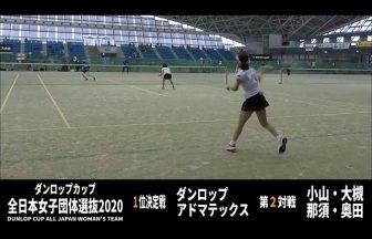 ソフトテニス one315,ダンロップカップ,全日本女子団体選抜