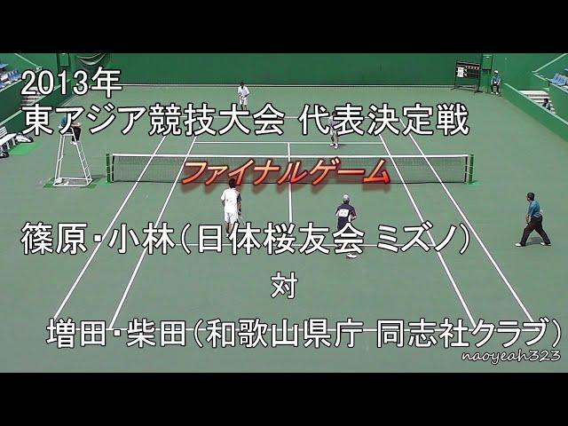 東アジア競技大会,日本代表選考予選会,篠原小林,