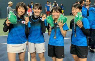 東京女子体育大学,吉田澪奈,ソフトテニス