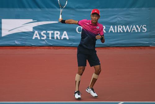ソフトテニス韓国代表,キムジヌン