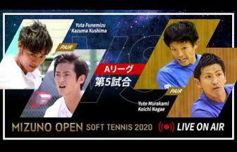 ミズノオープンソフトテニス2020,船水九島(フネクシ),村上長江