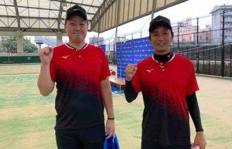 中本鈴木,福井県庁,ミズノオープンソフトテニス2020優勝