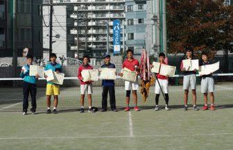 東京都中学校ソフトテニス新人大会