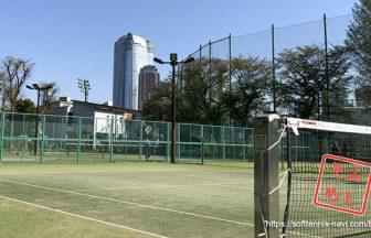 ソフメシ,港区春季ソフトテニス大会,麻布運動場テニスコート