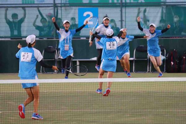 2021インターハイソフトテニス競技,女子団体戦優勝,東北高校