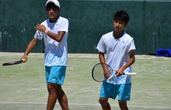 2021インターハイソフトテニス男子個人決勝,インハイ男子個人